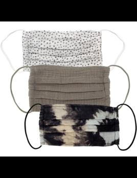 Kitsch Cotton Mask 3 Set - Neutral