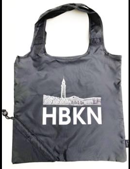 Charley & Hudson HBKN Black Poly Reusable Bag