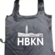 Charley & Hudson HBKN Black Poly Reusable Bag