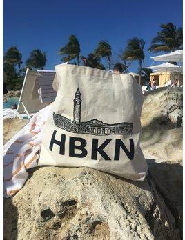 Charley & Hudson HBKN Canvas Tote Bag