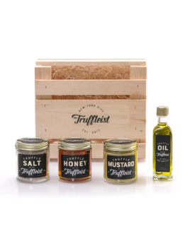 The Truffleist Wooden Crate - Assorted Truffle