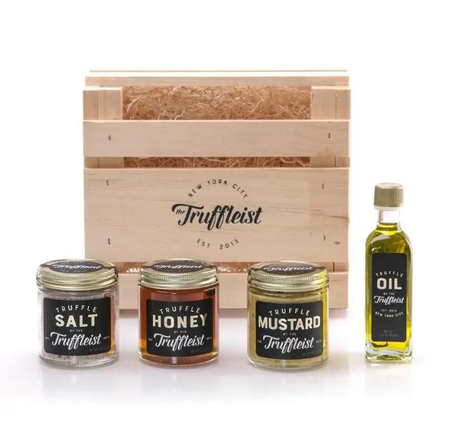 The Truffleist Wooden Crate - Assorted Truffle