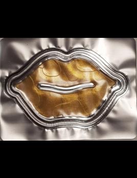 Zaq 24K Gold Hyaluronic Acid, Collagen Gel Lips Mask