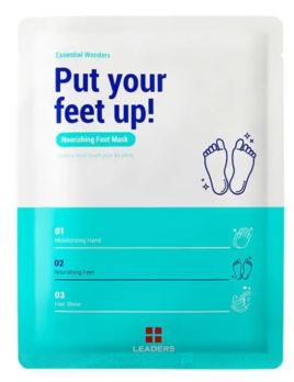 Leaders Cosmetics USA Put Your Feet Up! Nourishing Foot Mask