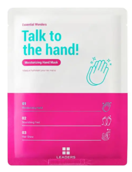 Leaders Cosmetics USA Essential Wonders Talk To The Hand Moisturizing Hand Mask