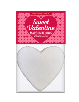 Melville Candy Heart Marshmallow Topper