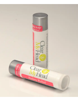 Clear My Head Lip Balm - Balmy Relief
