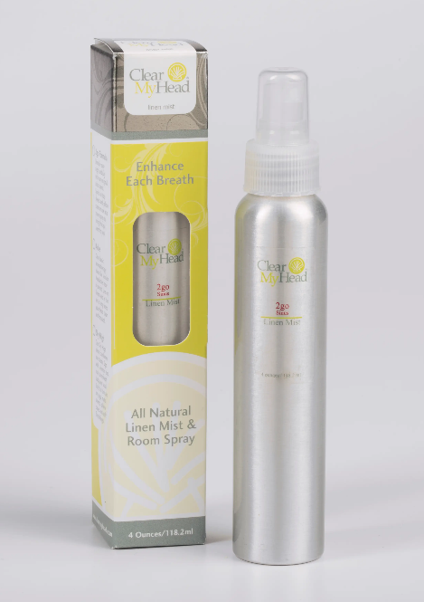 Clear My Head Linen Mist 4oz - Sinus Scent