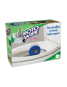 30 Watt Prank Gift Box - Roto Wipe