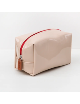 Caroline Gardner Cube Cosmetic Bag - Patent