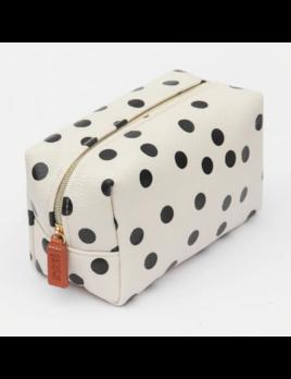 Caroline Gardner Cube Cosmetic Bag - Scattered Spot