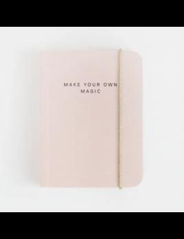 Caroline Gardner Pink Small Chunky Notebook