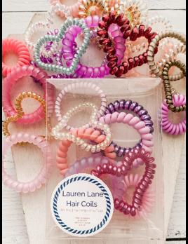 Lauren Lane XOXO Valentine's Day Hair Coil Boxed Set