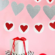 My Mind's Eye Valentine Heart & Circle Heart Banner Set