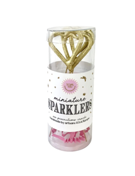 TOPS Malibu Mini Gold Sparklers Heart