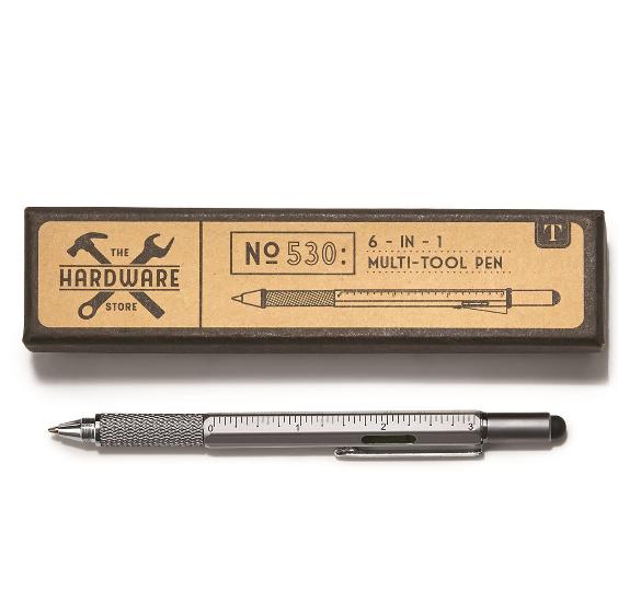 Two's Company 6 -in- 1 Multi Tool Pen