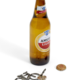 Two's Company Bike Bottle Opener w/ Ring Attachment
