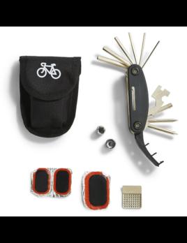 Two's Company 15 in 1 Bicycle Multi-Tool & Repair Kit