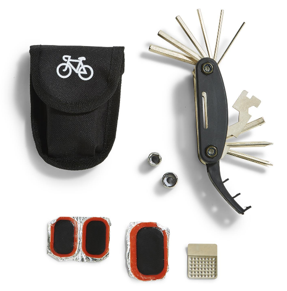 Two's Company 15 in 1 Bicycle Multi-Tool & Repair Kit