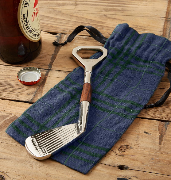 Two's Company Golf Club Bottle Opener