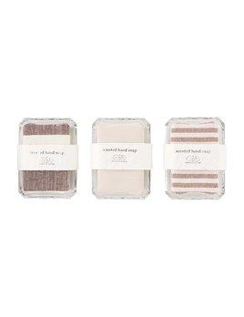 Mudpie Striped Hand Soap & Dish Sets