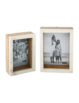 Mudpie Marble Shadow Box Frame