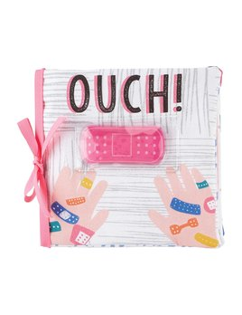 Mudpie Ouch Pouch Book - Pink