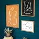 Kalalou Framed Nude Prints Under Glass
