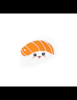 Three Hearts Modern Teething Accessories Sushi Silicone Teether Salmon