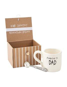 Mudpie Dad Coffee Baby Annoucement Gift Set