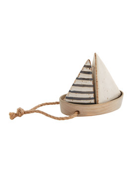 Mudpie Sailboat S & P Set