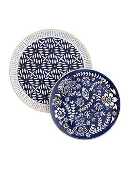 Mudpie Indigo Platters
