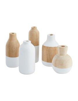 Mudpie Paulownia Bud Vases