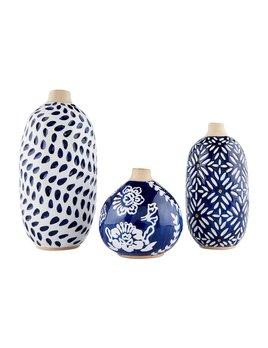 Mudpie Indigo Bud Vases
