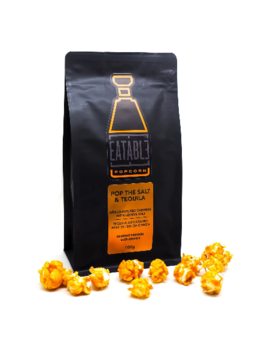 Eatable Pop the Salt and Tequila (100g) Infused Gourmet Popcorn