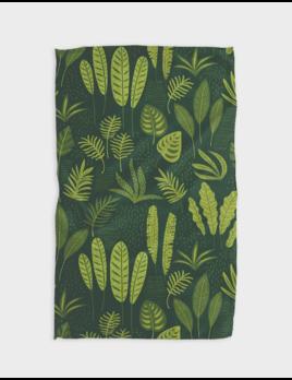 Geometry Fern  Kitchen Tea Towel