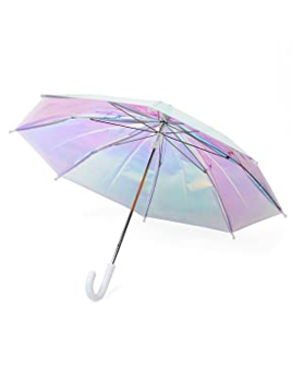 FCTRY Umbrella - Holographic w/ White Handle