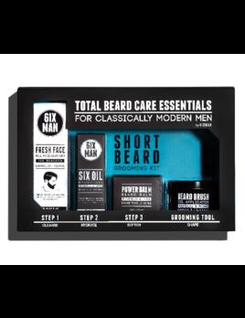 6IXMAN Short Beard Grooming Kit