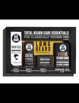 6IXMAN Long Beard Grooming Kit