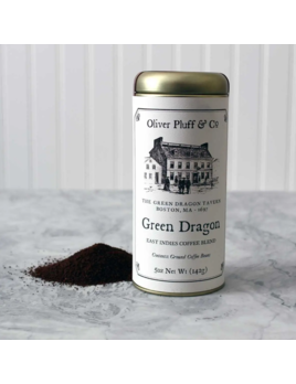 Oliver Pluff & Company Green Dragon Coffee Blend Tin
