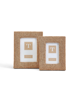Two's Company Bead Goes On Hand-Crafted Photo Frames