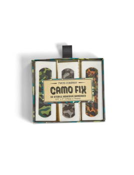 Two's Company Camo Fix 30 Pc Bandages in Box