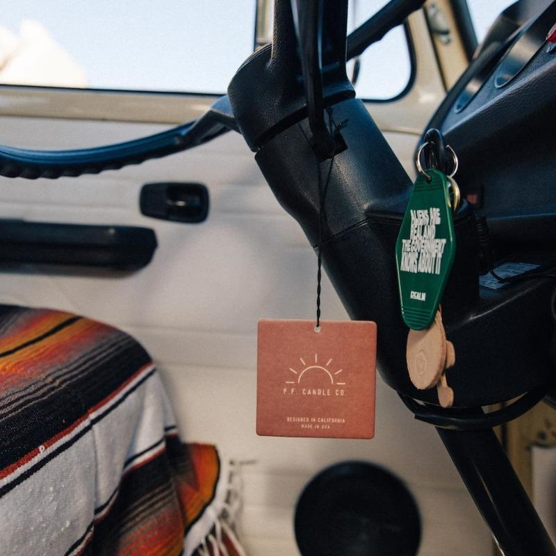 P F Candle Co. Car Fragrance - Amber & Moss