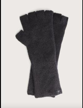 Barefoot Dreams Cozychic Lite Fingerless Gloves Black