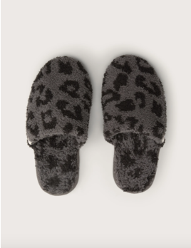 Barefoot Dreams Cozychic BITW Slipper Graphite/ Carbon