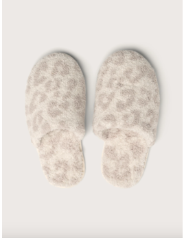 Barefoot Dreams Cozychic BITW Slipper Cream/Stone