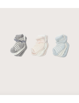 Barefoot Dreams Cozychic Lite Infant Socks (0-12 mo.) - 3 Pack