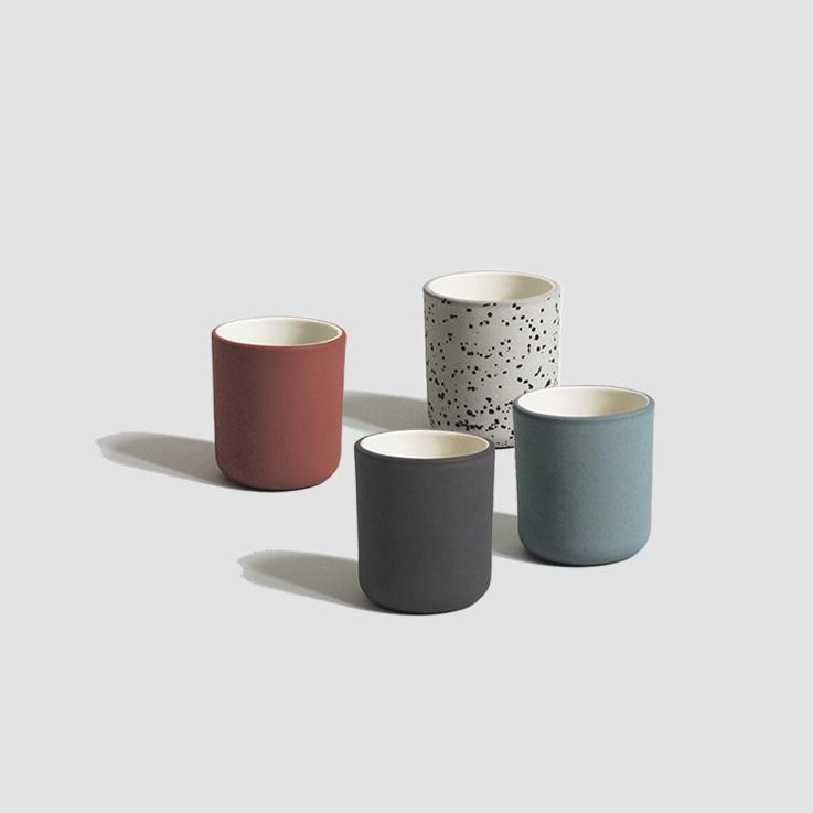 Archive Studio Espresso Cup - Set of 2 - Dark Gray