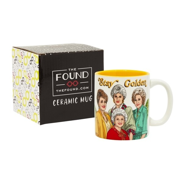 The Found Golden Girls Stay Golden Mug