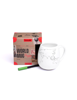 Trouvaille Global World Mug